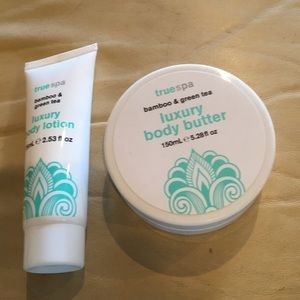 Luxury body lotion and body butter